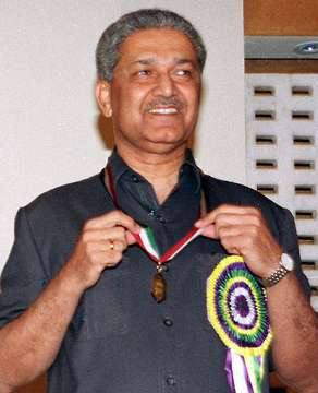 A. Q. Khan with medal