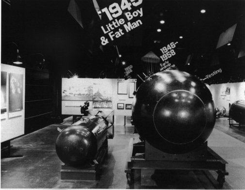 Atomic Bomb Fat Man And Little Boy