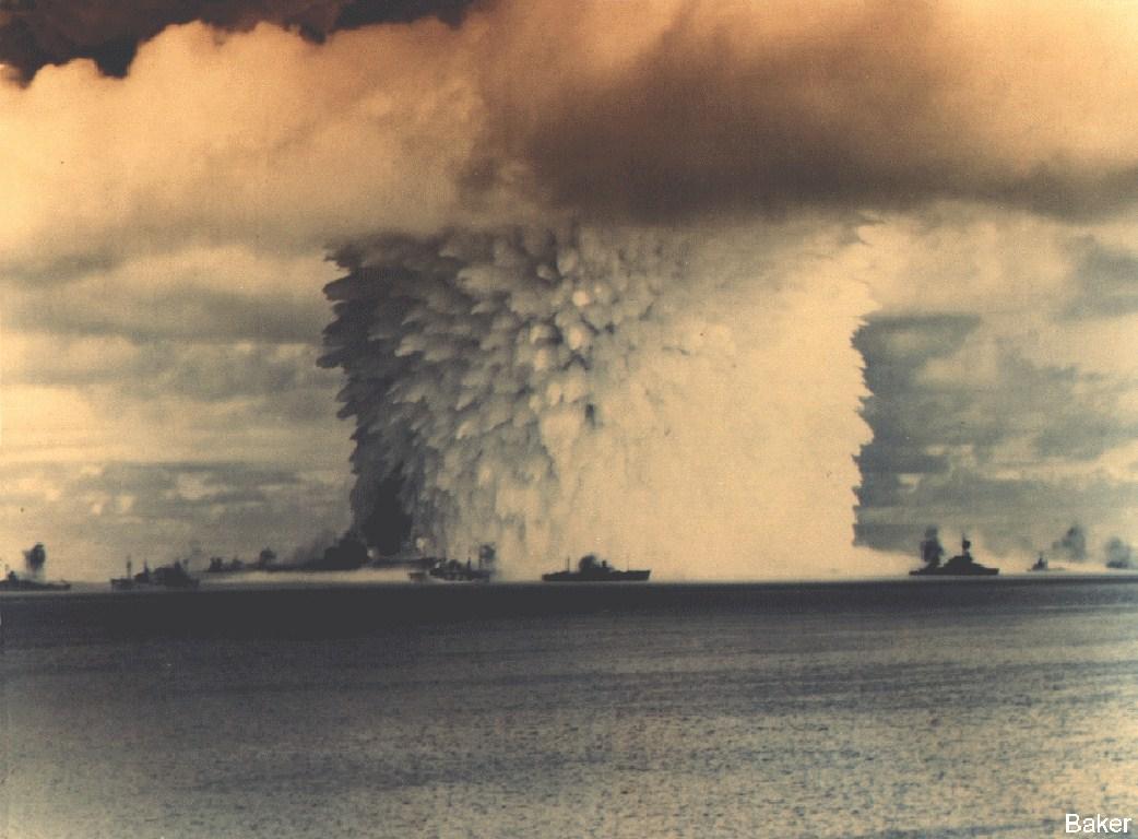Bikini atoll nuclear tests can suggest